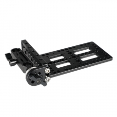 CAMVATE Cheese Plate Kit with 15mm Rod Clamp Railblock