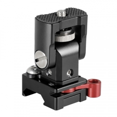 "CAMVATE Camera Monitor Support Holder With 1/4""-20 Mounting Stud & QR NATO Clamp"
