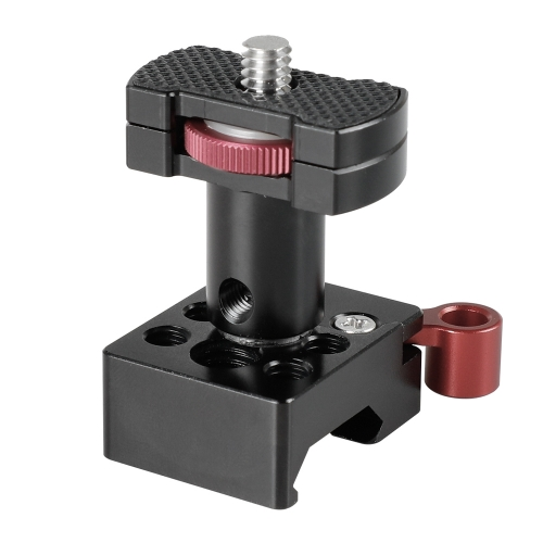 "CAMVATE On-camera Monitor Support Bracket With 1/4""-20 Mounting Screw & QR NATO Clamp"