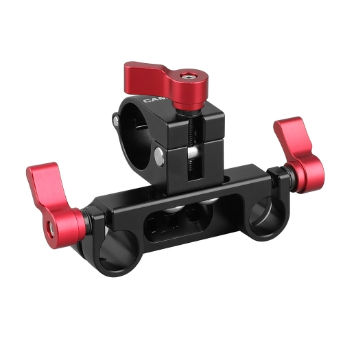 "CAMVATE 25mm Rod Clamp For DJI Ronin-M Stabilizer + 15mm Dual Rod Clamp With 1/4"" Mounting Points & Groove"