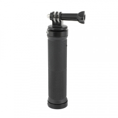 CAMVATE Universal Rubber Handgrip With Monopod Support Mount Adapter For GoPro HD HERO 1 2 3 4 Camera