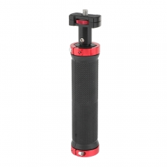 "CAMVATE Rubber Handgrip With 1/4""-20 Thumbscrew Support Mount For DSLR Camera Cage Accessory"