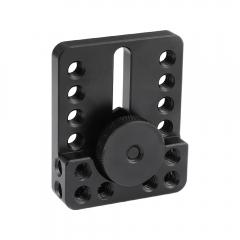 CAMVATE Versatile Top Cheese Plate With Shoe Mount & Thumbscrew For DSLR Camera Cage Setup