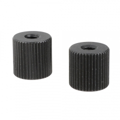 "CAMVATE Double-ended 1/4""-20 Female Thread Screw Nut For Extension Arm (2 Pieces)"