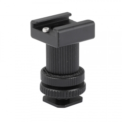 CAMVATE Double-ended Cold Shoe Mount Bracket Adapter