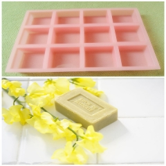 Retangle Silicone Soap Mold