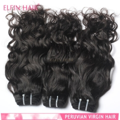 【13A 1PCS】Brazilian Virgin Hair Natural Wave Grade 13A Elfin Hair