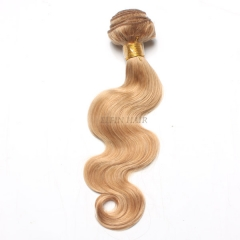 12-26 Inch #27 Blonde Body Wave Virgin Hair Weave 100g/bundle