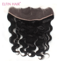 14A 13x4'' Lace Frontal Closure 150% Density Body Wave Top Lace Closure 1Pcs  Free Shipping Human Hair Closure
