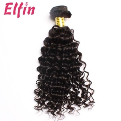 【13A 1PCS】Brazilian Virgin Deep Wavy Hair Grade 13A Elfin Hair