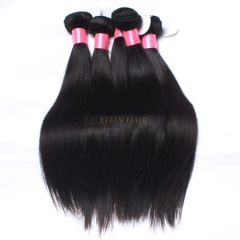 【4PCS】Bundles Peruvian Hair Straight 13A Grade Best Human Hair Weave Free Shipping