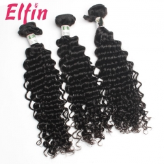 【13A 3PCS】Peruvian Virgin Deep Curly Human Hair Grade 13A Free Shipping