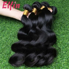 【14A 4PCS】Malaysia Bundles Body Wave Top Grade Quality Hair Weave Free Shipping