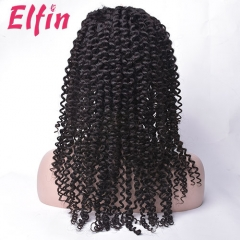 7A 150% Density Full Lace Frontal Wig Curly Wig Virgin Human Hair Free Shipping