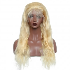 Customize 7 working Days#613 13A Elfin 360 Lace Frontal Wig Body Wave 180% Density Virgin Human Hair