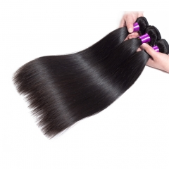 【8A 3PCS】+Free Shipping Brazilian Straight Hair Virgin Soft Hair BEST QUALITY 100% Human Hair Extensions