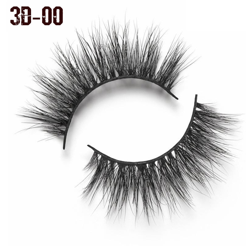 Elfin Beauty 3D mink Lashes Extension Eyelash Cruelty Free Natural False Eyelashes Fake Lashes Long Makeup Mink Eyelashes