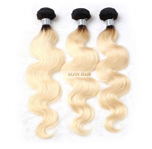 Elfin Best Russian T1B/#613 body Ombre Blonde Hair Customize time 7 days