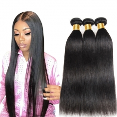 【13A 3PCS】Brazilian Virgin Hair Straight Hair 100% Human Hair Free Shipping