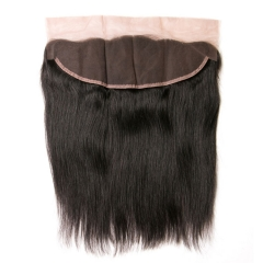 13A 150% Density 13x4'' Straight Lace Frontal Closure  Ear to Ear 1Pc Free Shipping Human Hair Closure