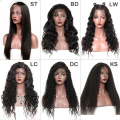 【13A】Wholesale Lace Frontal Wigs 10PCS