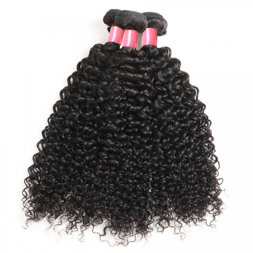 3PCS Hair Bundles New 12A Brazilian Deep Curly 8-30inch Hair 100% Human Virgin Hair Extensions Natural 1B Color Free Shipping