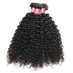3PCS Hair Bundles New 12A Peruvian Deep Curly 8-30inch Hair 100% Human Virgin Hair Extensions Natural 1B Color Free Shipping