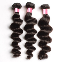 3PCS Hair Bundles New 12A Malaysian Loose Wave 8-30inch Hair 100% Human Virgin Hair Extensions Natural 1B Color Free Shipping