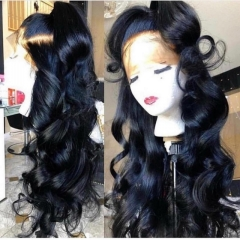 13A Glueless Full Lace Wig 220%/180%/150% Human Hair Wigs For Women Body Wave Full Lace Wig With Baby Hair Virgin Natural Black Customize in 7 days
