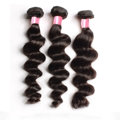 【12A 1PC】Peruvian Virgin Hair Loose Wave Bundles 10-30 Inch