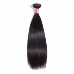 【12A 1PC】Peruvian Virgin Hair Straight Hair Bundles 8-30 Inch