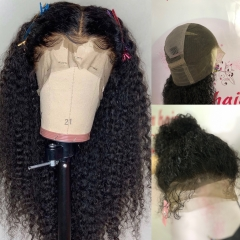 13A 220%/180%/150% Density Full Lace Wig Curly Wig Virgin Human Hair Customize Wig 7 working days
