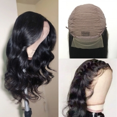 HD Frontal Wig! 30inch 250% density Thin Lace HD Invisible Transparent Wig Best Swiss Lace Body Wave Lace wig