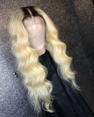 13A #1b-613 Lace Frontal 1T613 Body wave Wig 180% density Customize Wig 7working days