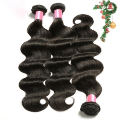 3PCS Hair Bundles New 12A Brazilian Body wave 8-30inch Hair 100% Human Virgin Hair Extensions Natural 1B Color Free Shipping