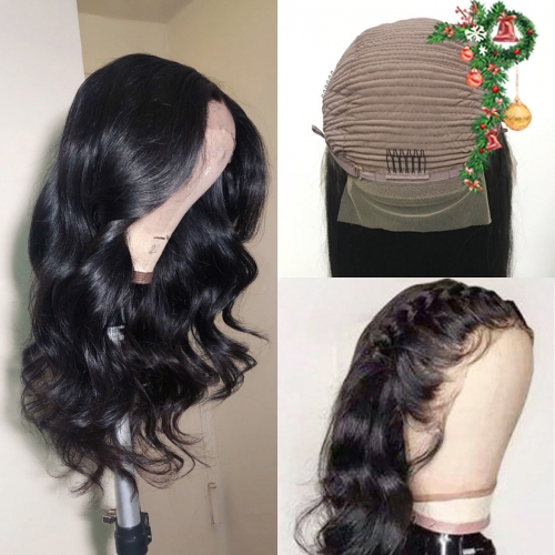 HD Frontal Wig! 30inch 250% density 13x4 Thin Lace HD Invisible Transparent Wig Best Swiss Lace Body Wave Lace wig Customize 3 days
