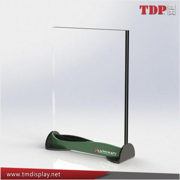 Metal Base Acrylic Menu Holder Acrylic Price List Holder Acrylic - Metal table tents