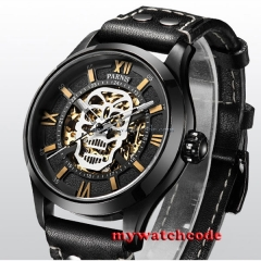45mm Parnis PVD steel case Sapphire Glass miyato Automatic mens Watch P571