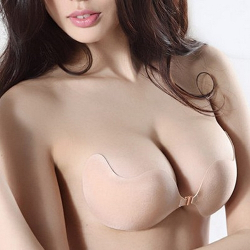 Biological glue Lara goddess invisible bra gathered