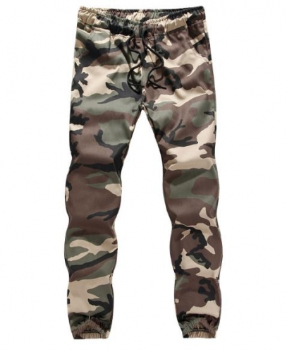 Charming Plus Size Camo Trousers (S-5XL)