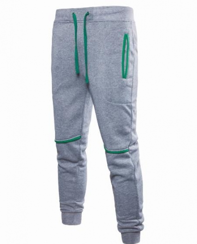 Charming Men's color matching sports pants
