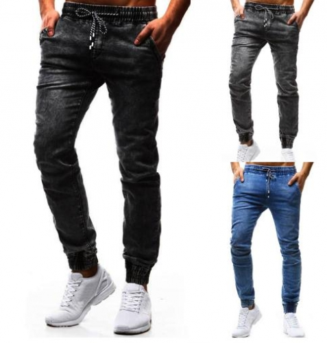 Charming Men's casual feet jeans