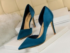 Charming Pointed shallow stiletto heels