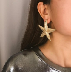 Charming Simple starfish earrings
