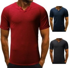 Charming Men's Casual Short Sleeve T-Shirt