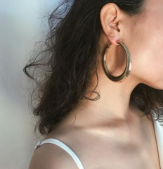 Charming Simple metal earrings