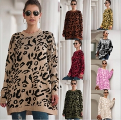 Charming leopard sweater