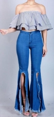 Charming Slim fit crotch jeans