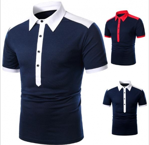 Charming Casual men's polo shirt