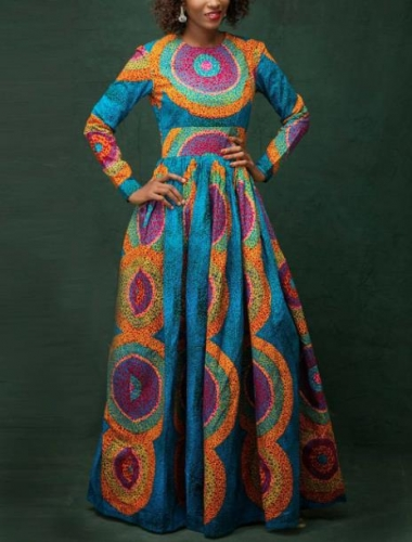 Charming Ethnic printed dress